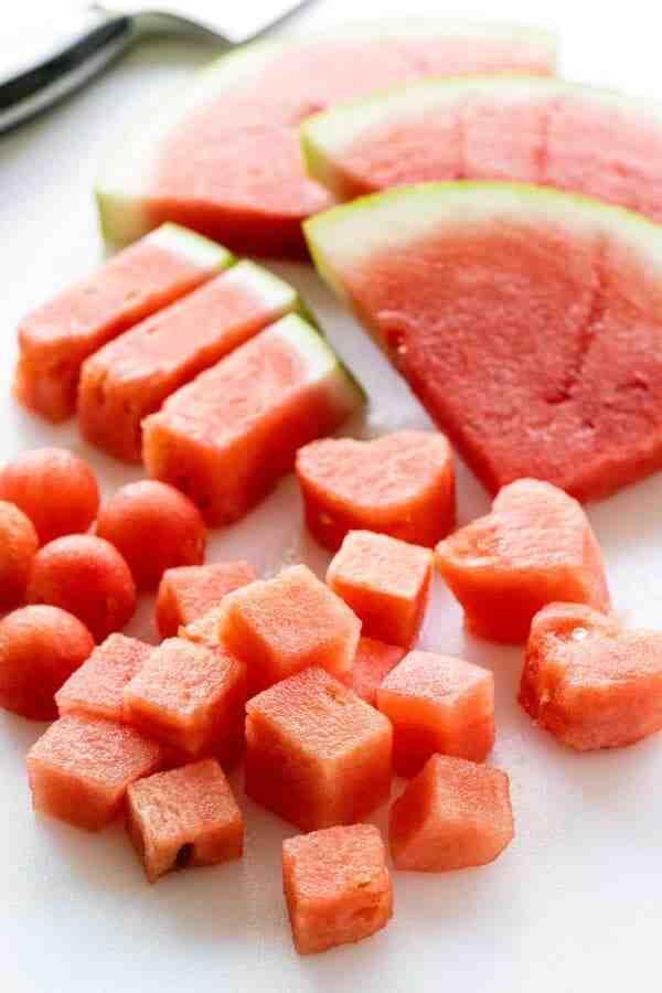Comment couper une pastèque pour enlever les pépins ?