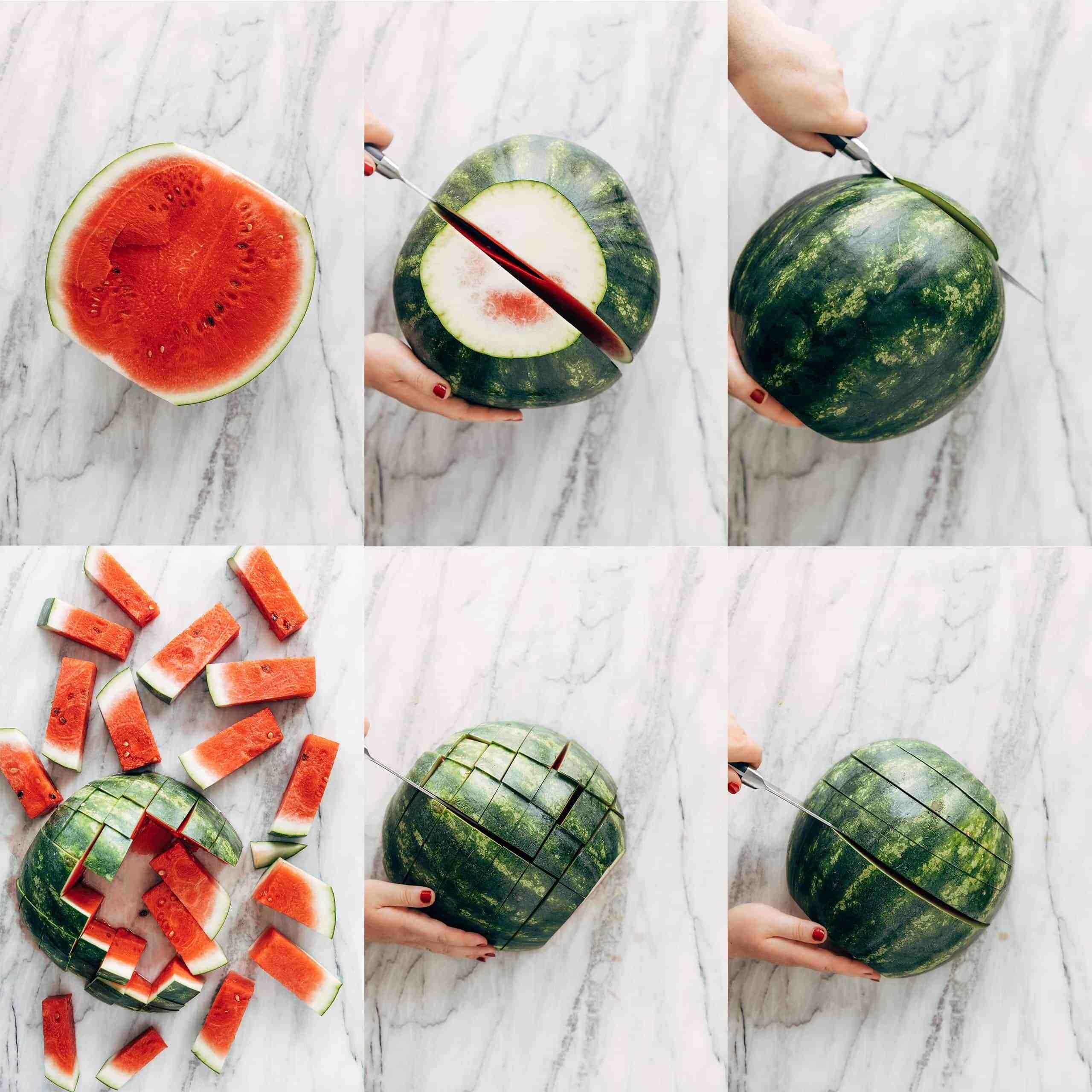 Comment couper une pastèque