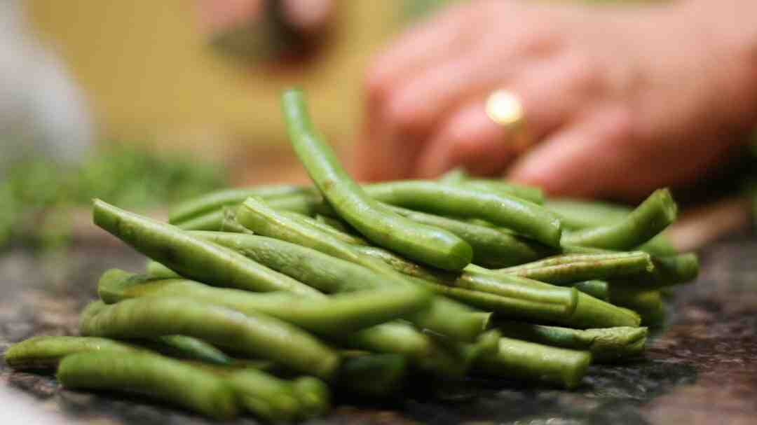 Comment cuire haricots verts